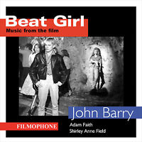 Beat Girl (Music From The Film) CD - John Barry Seven , Adam Faith