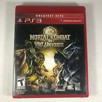 Mortal Kombat vs DC Universe (Sony PlayStation 3 , 2008) PS3 Complete Tested