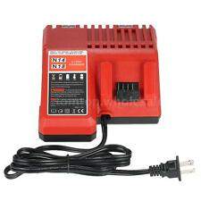 18V Power Tool Lithium Battery Charger Replacement for Milwaukee M18 K4A3