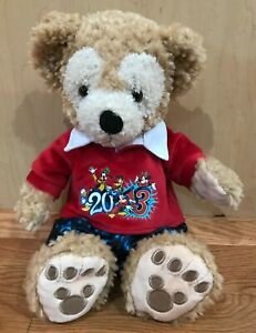 Disney Duffy the Bear Plush Stuffed Toy Hidden Mickey Paws  LN!  Free Shipping