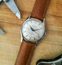 Vintage Croton / Nivada Gents Pie Pan Dress Watch - 1950s - Serviced