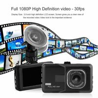"3.0"" Vehicle 1080P Car Dashboard DVR Camera Video Recorder Dash Cam G-Sensor &"