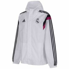 adidas Polyester Waist Length Hooded Coats & Jackets for Men