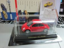 Kyosho - Volkswagen Minicar Collection - New Beetle - Red Scale 1/64 - Mini Car