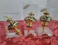 (3) Kurt S Adler Christmas Ornaments