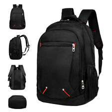 Men's Large Backpack Women Shoulder Laptop School Bag Travel Luggage Rucksack AU