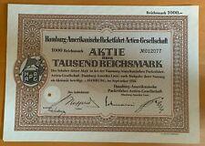 Hamburg-Amerikanische Packetfahrt AG - Hambrg