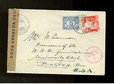 1941 Netherlands Indies Censored Cover to USA