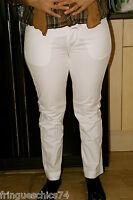 pantacourt jeans blanc MARITHÉ FRANCOIS GIRBAUD taille 34 (42-44) NEUF ÉTIQUETTE