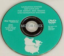 INFINITI NISSAN NAVIGATION DISC CD DVD DISK 7.1 MAP NAVAGATION GPS