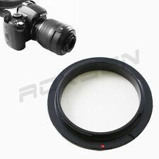 52mm 52 MM Macro Reverse Lens Adapter for CANON EOS EF MOUNT SLR DSLR camera