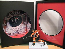 Hand Crafted Philadelphia Flyers Shadow box with McFarlane Claude Giroux Figure