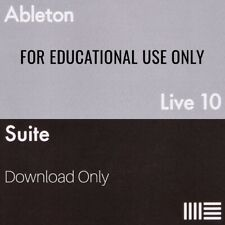 Ableton Live 10 Suite Software License (Educational, Download)