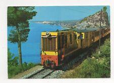 Costa Blanca Lemon Express Spain 1969 Postcard 456a