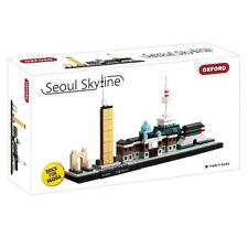 Oxford Block Bricks Toy Korea Seoul Skyline Limited Edition W/Tracking Number