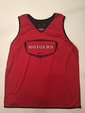 Rutgers Basketball GAME WORN Jersey Nike #5 XL EXTRA LARGE Reversible