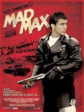 Affiche Pliée 120x160cm MAD MAX 1979 George Miller - Mel Gibson - R2009 NEUVE