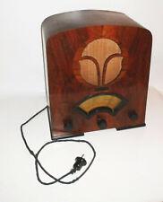 Altes Röhrenradio Tenor um 1935 Vintage Radio tubes Deko !