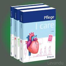 I CARE LERNPAKET | Pflege - Anatomie Physiologie - Krankheitslehre - 3 Bücher
