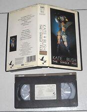 VHS Kate bush the single file – Excellent 1983 EMI 2