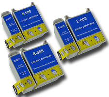 6 T007/08 non-OEM Ink Cartridge For Epson Stylus Photo 780 785EPX 790 825 870LE