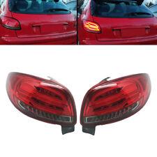 Derecho & izquierda LED Luz de Cola Trasero De Señal De Vuelta MONTAJE DE AJUSTE para Peugeot 206 98-10