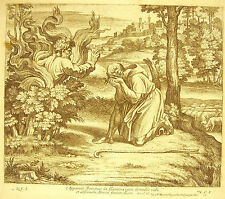 Moïse et le buisson ardent Exodus III La Bible Nicolas Chaperon 1649 ap Raphaël