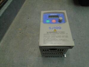 Hitachi SJ100-002NFE General Purpose Inverter 1/4 hp 0.2Kw