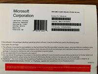 Windows 10 HOME 64 Bit Dvd W/ Product key sticker NEW