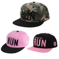 Unisex Kids Snapback Hats Letter Embroidery Baseball Cap Sun Hats hv2n