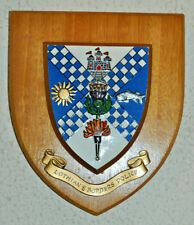 Lothian & Borders Police wall plaque shield crest Constabulary