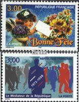 Frankreich 3273,3274 (kompl.Ausg.) gestempelt 1998 Sondermarken