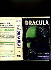 DRACULA-BRAM STOKER RARE HI GRD MODERN LIBRARY-1959- HB/SUPERB KAUFFER  DJ