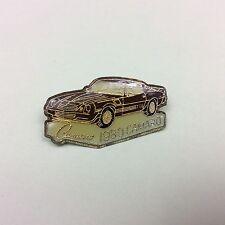 vintage 1980 camaro - car pin badge