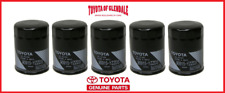 Genuine Toyota Lexus Oil Filter Set Of (5) Oem Fast Shipping 90915-Yzzd3