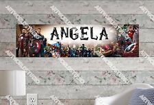 Personalized/Customized Avenger Age of Ulton Name Poster Wall Decoration Banner