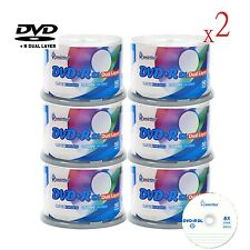 600-Pack SmartBuy Logo Surface DVD+R DL 8X Dual Layer 8.5GB Blank Record Disc