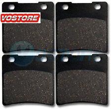 Front Rear Kevlar Carbon Brake Pads fit 1987-2004 Suzuki VS 1400 Intruder 1400