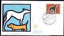 MONACO FDC - 816 1 - EXPOSITION CANINE CHIEN - 25 Avril 1970 - LUXE