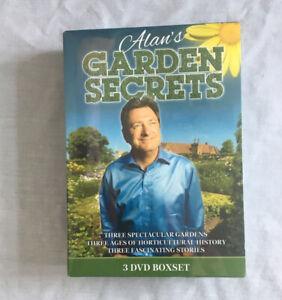 ALANS GARDEN SECRETS THE COMPLETE SERIES ON 3 DVDS New