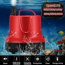900-3800L/H Submersible Water Pump 220-240V Aquarium Fish Pond Tank Spout  z *