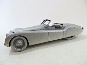 DANBURY MINT '1951 JAGUAR XK120' PEWTER. VINTAGE. VGC. 1:43.