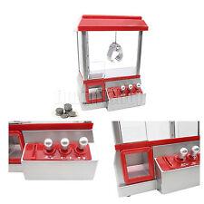 Dolls Toy Candy Gum Arcade Game Grabber Prize Machine Joystick Catch Kids RED