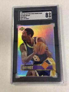 1999 Collector's Edge Rookie Rage Game Ball #KB1 Kobe Bryant LA Lakers SGC 8