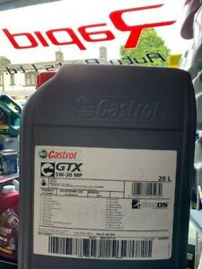 Castrol GTX 5w30 MP C3 Fully Synthetic Engine Oil 20 Litre MB-Approval GM dexos2