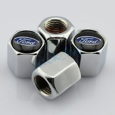 Tire Valve Caps Accessories Wheels Air Dust Cover Decor For Ford Metal Modeling