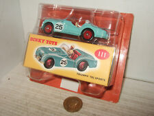 BNIP Sealed Deagostini -Dinky Replica 111, Triumph TR2 Sports & Box in Pack.