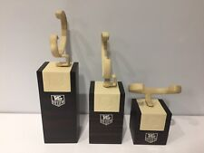 Tag Heuer - Set of 3x Stud Display Support Exhibitor Exposant - For 3 Watches