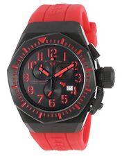 Swiss Legend 10540-BB-01-RDAS Trimix Diver Chronograph Watch Black NEW in Box!