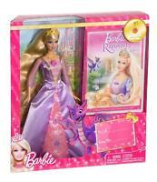 Rapunzel Barbie doll Mattel  near MINT
